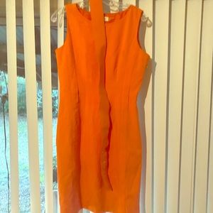 Calvin Klein summer dress with belt